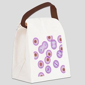 Mitosis, artwork - Canvas Lunch Bag