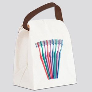 Toothbrushes - Canvas Lunch Bag