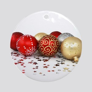 christmas ornaments Ornament (Round)