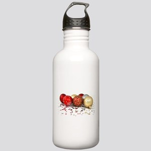 christmas ornaments Water Bottle