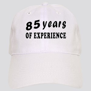 85 years birthday designs Cap