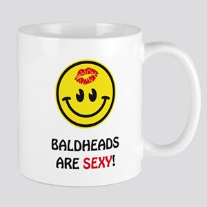 Baldheads are sexy! Mug