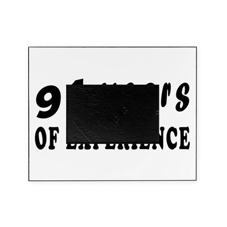 91 years birthday designs Picture Frame