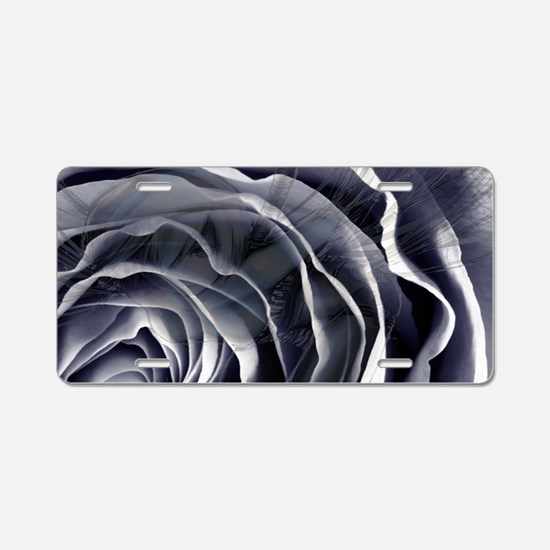 Pixie in the flower Aluminum License Plate
