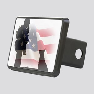 Soldier and shepard Hitch Cover