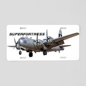 Superfortress Aluminum License Plate