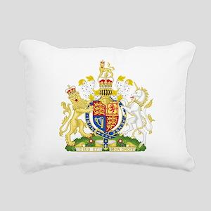 Royal COA of UK Rectangular Canvas Pillow