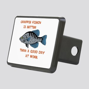 Crappie fishing shirt Hitch Cover