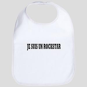 Rock Star Bold Black Bib