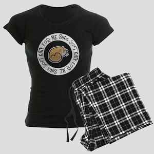 Sing Soft Kitty Women's Dark Pajamas