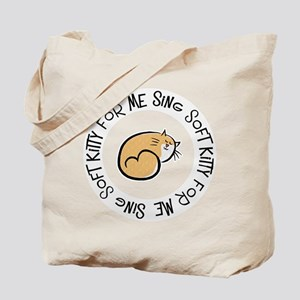 Sing Soft Kitty Tote Bag