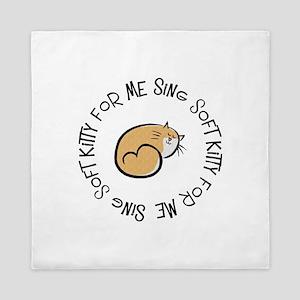 Sing Soft Kitty Queen Duvet