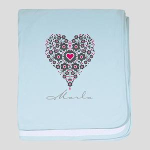 Love Marla baby blanket