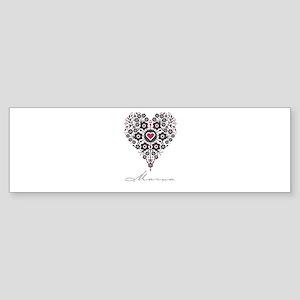 Love Marva Bumper Sticker