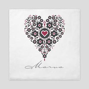 Love Marva Queen Duvet