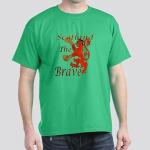 Scotland The Brave Boxing T-Shirt