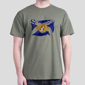 Scotland Boxing Flag T-Shirt