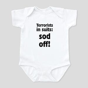 Terrorists in Suits Infant Bodysuit