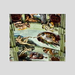 Sistine Chapel Ceiling Throw Blanket