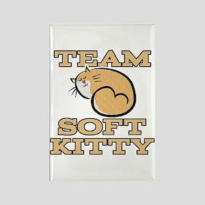 Team Soft Kitty Rectangle Magnet