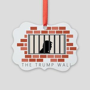 The Trump Wall Ornament