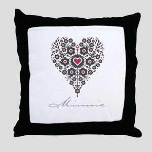 Love Minnie Throw Pillow