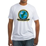 EOD Mobile Unit 5 Guam Fitted T-Shirt