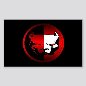American Pit Bull Oval Sticker