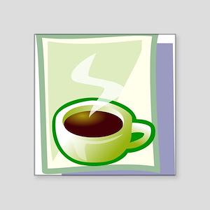 Art Deco Coffee Sticker