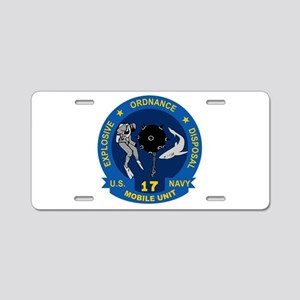 EOD Mobile Unit 17 Aluminum License Plate