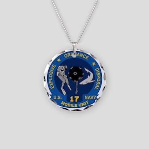 EOD Mobile Unit 17 Necklace Circle Charm