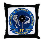 EOD Mobile Unit 17 Throw Pillow