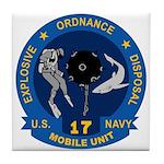 EOD Mobile Unit 17 Tile Coaster