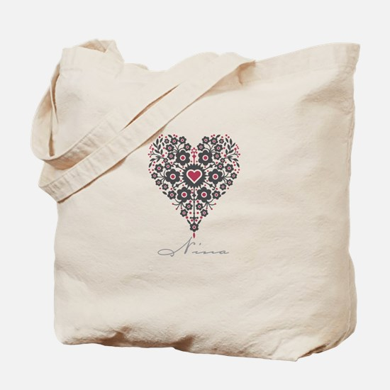 Love Nina Tote Bag