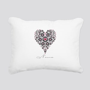 Love Nona Rectangular Canvas Pillow