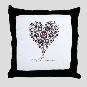 Love Nona Throw Pillow