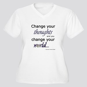 Change Your Thoughts Plus Size T-Shirt