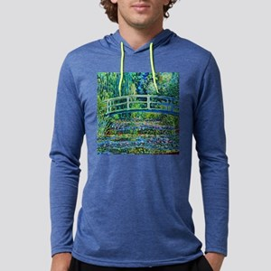 Monet - Water Lily Pond Mens Hooded Shirt
