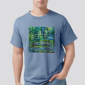 Monet - Water Lily Pond Mens Comfort Colors Shirt