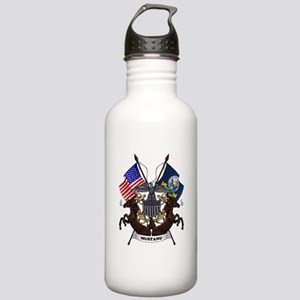 Mustang with Tails Water Bottle