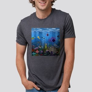 Underwater Love Mens Tri-blend T-Shirt