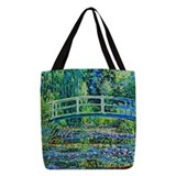 Monet Polyester Tote Bag