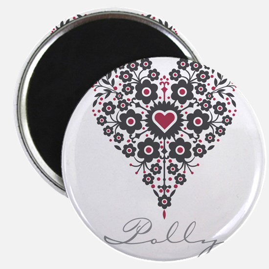 """Love Polly 2.25"""" Magnet (100 pack)"""