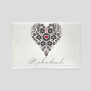 Love Rebekah Rectangle Magnet