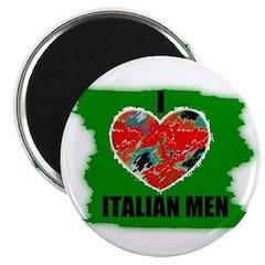I LOVE ITALIAN MEN Magnet