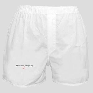 Question Eli Authority Boxer Shorts