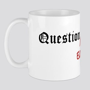 Question Eli Authority Mug