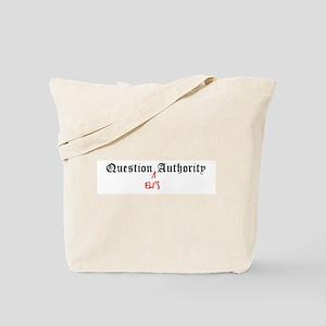 Question Eli Authority Tote Bag