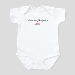 Question Amari Authority Infant Bodysuit