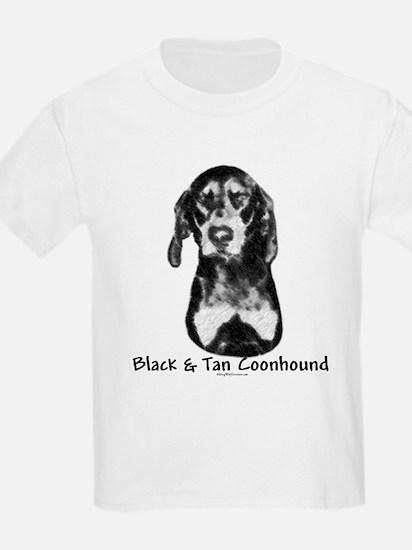 B & T Charcoal Kids T-Shirt